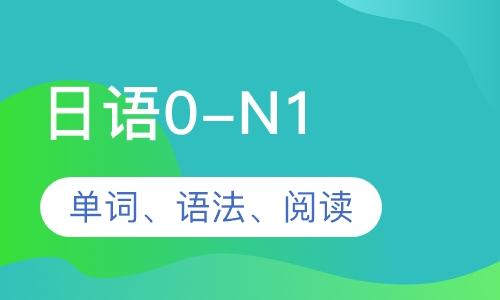 日語0-N1