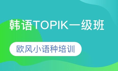 韩语TOPIK一级班