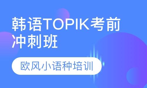 韩语TOPIK考前 冲刺班