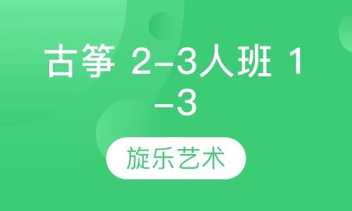 古箏 2-3人班 1-3級