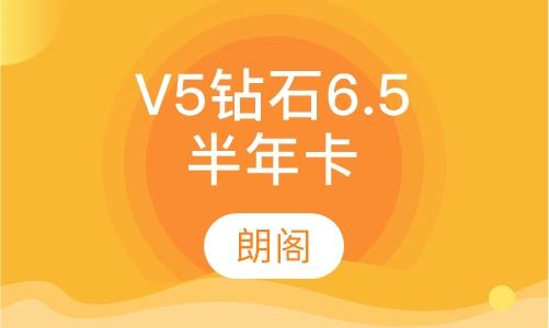 雅思托福V5鉆石6.5分半年卡