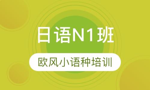 日语N1班