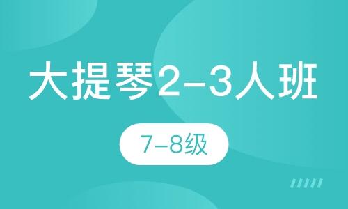 大提琴2-3人班  7-8級