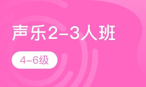 聲樂2-3人班  4-6級