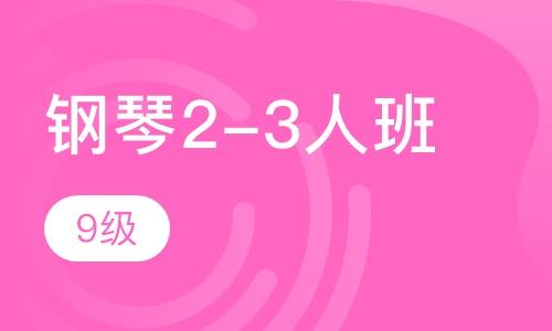 鋼琴2-3人班  9級