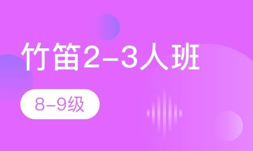 竹笛2-3人班  8-9級
