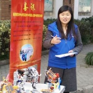 杭州卓杜威机器人活动中心:朱赛娇