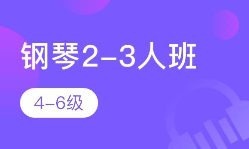 鋼琴2-3人班  4-6級