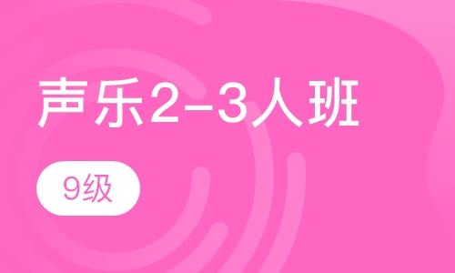 聲樂2-3人班  9級