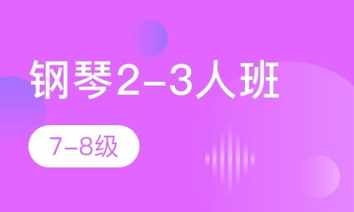 鋼琴2-3人班 7-8級