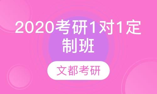 2020考研1对1定制班